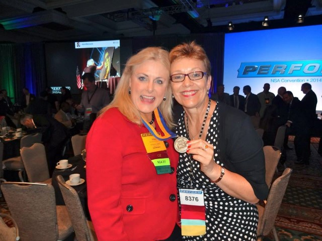 Mary Kelly and Shirley Taylor San Diego National Speakers Assoc