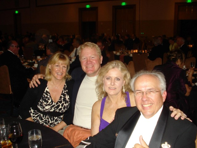 Mary Kelly, Kathy and Karl Mecklenburg and Carl 'Chevy' Chevallard