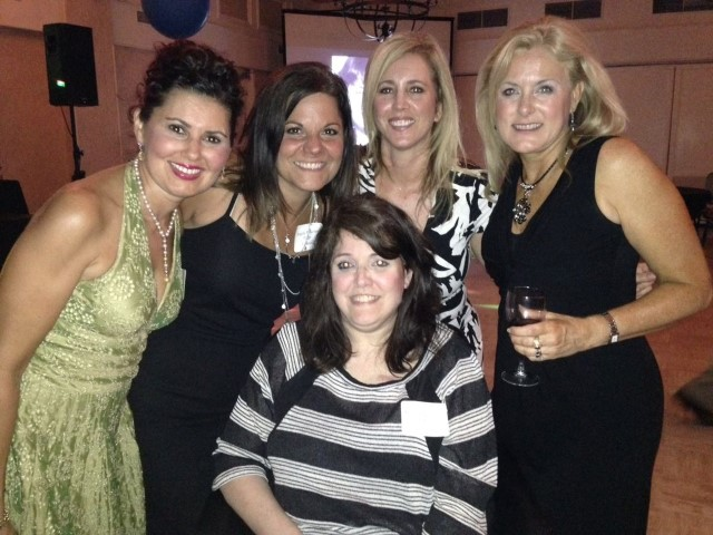Mary Kelly - Dallas at the reunion, with family and friends