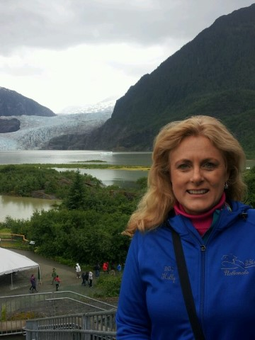 Mary Kelly - Mendenhall Glacier in Juneau, Alaska