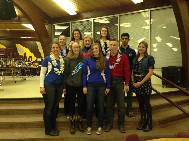 Mary Kelly and with Air Force Academy Equestrian Team