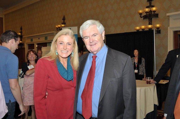 Mary Kelly opened in Vegas for Newt Gingrich