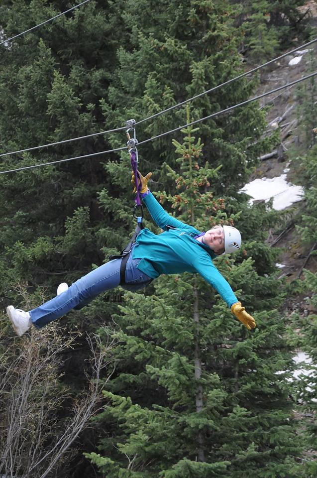 Mary Kelly ziplines