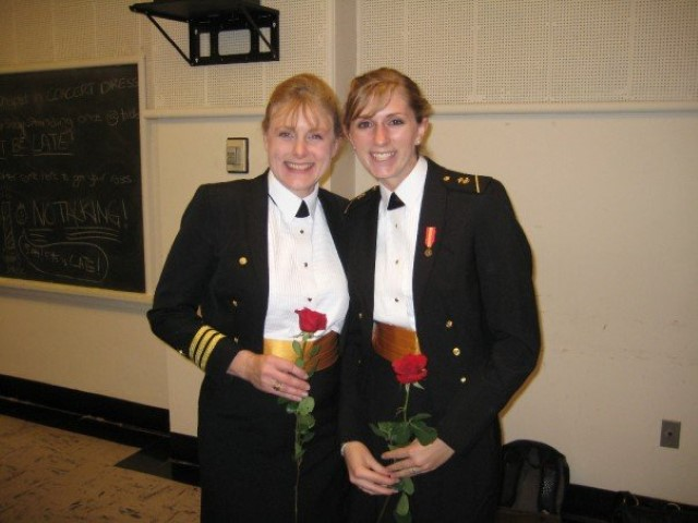 CDR Mary Kelly and Midn
