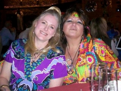 Mary Kelly and Robyn Graham Millheim, the world's greatest website designer and friend