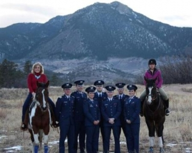 Mary Kelly usafa eq team
