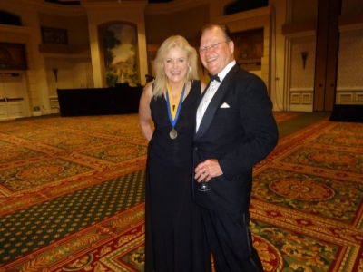Mary Kelly at National Speakers Association of Colorado 2014 Convention with Dale Irvin