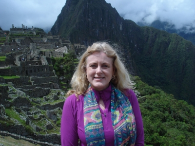 Mary Kelly at Machu Picchu