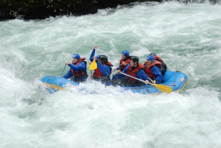 Mary Kelly White Water Rafting