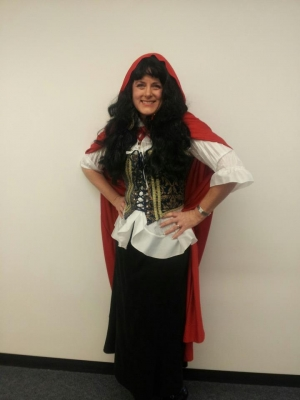 Mary Kelly's version of Little Red Riding Hood