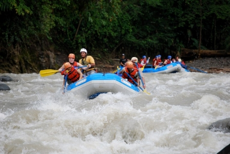 Mary Kelly - White water rafting Costa Rica