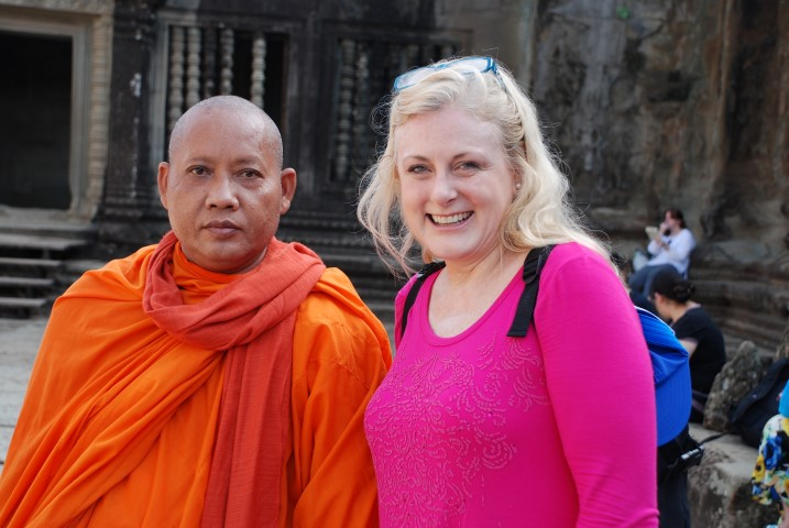 Mary Kelly's new Cambodian friend