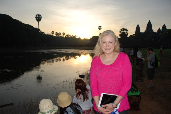 Mary Kelly Sunrise at Ankor Wat