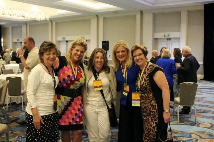 Christie Ward Csp, Chandra Hall, Shari Harley, Mary Kelly and Heather Lutze