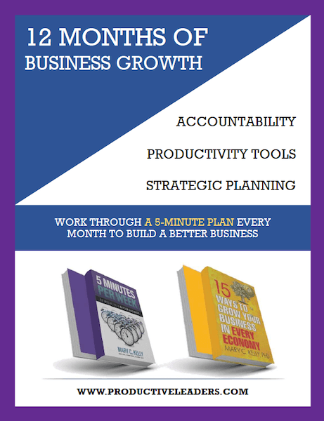 12 months business growth