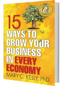 15 Ways to Grow Your Business - Book - Mary Kelly