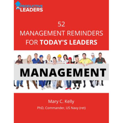 52 Management Reminders for Today's Leaders