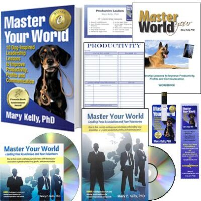 Master your World - Main Product Shot - Mary Kelly