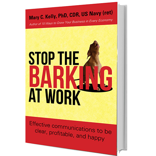 Stop the Barking Book by Mary Kelly