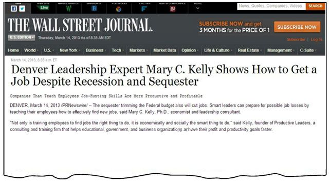 How to Get a Job Despite Recession and Sequester