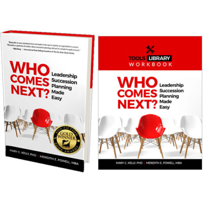 Who Comes Next Book and eWorkbook w award