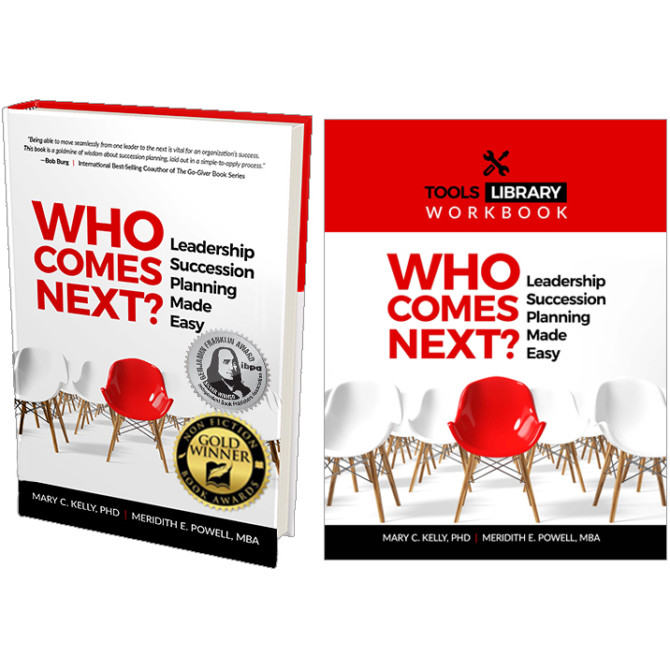 Who Comes Next Book and eWorkbook - with 2 awards