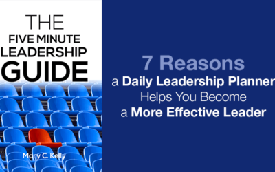 7 Reasons a Daily Leadership Planner Will Change Your Life