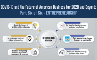COVID-19 and the Future of American Business for 2020 and Beyond: Part Six of Six – ENTREPRENEURSHIP